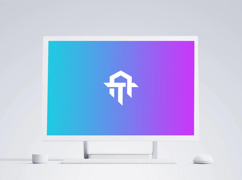 Microsoft Surface Studio Mockup - White computer desktop download freebie free white studio surface microsoft design