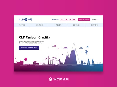 Industry Company Website Design company oil air pollution mill industry carbon vector illustrator awesome illustration web page design landing page design ui ux web design design