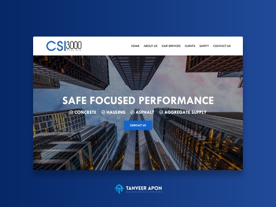 Construction Company Website Design london city building eye catching elegant mortgage real estate construction clean company awesome ui ux web page design landing page design web design design