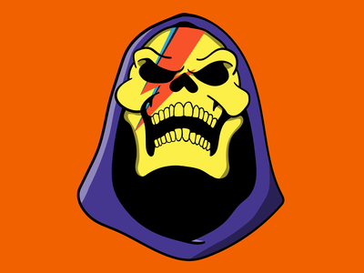 Skeletor X Ziggy Stardust