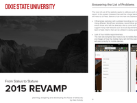 Dixie State University Website Revamp