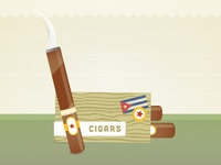 Travel Infographic - The cut Cuba illustration
