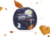 Happy Mid-Autumn Festival 2015 Illustration