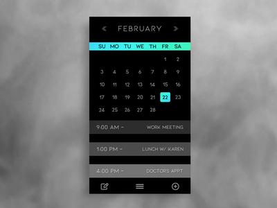 Calendar/ Agenda