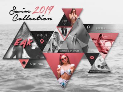 EAK Swim Collection Homepage