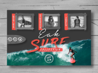 Eak surf collection landing page