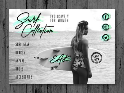 EAK Surf Collection Landing Page 2