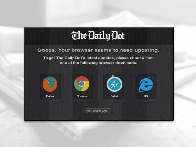 Antique browser dribz