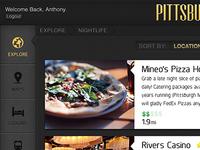 Explore Pittsburgh iPad App