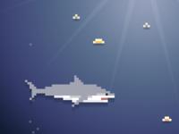 pixel shark!