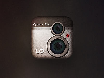bell & howell inspired icon icon app camera video