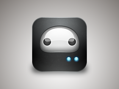simple robot iphone mobile icon android robo.to