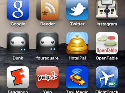 dunk or foursquare? test iphone