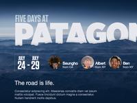 Five days at Patagonia