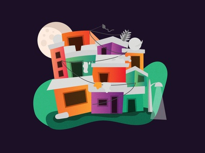 Favela design ilustracion illustration ilustrator ilustrace ilustração