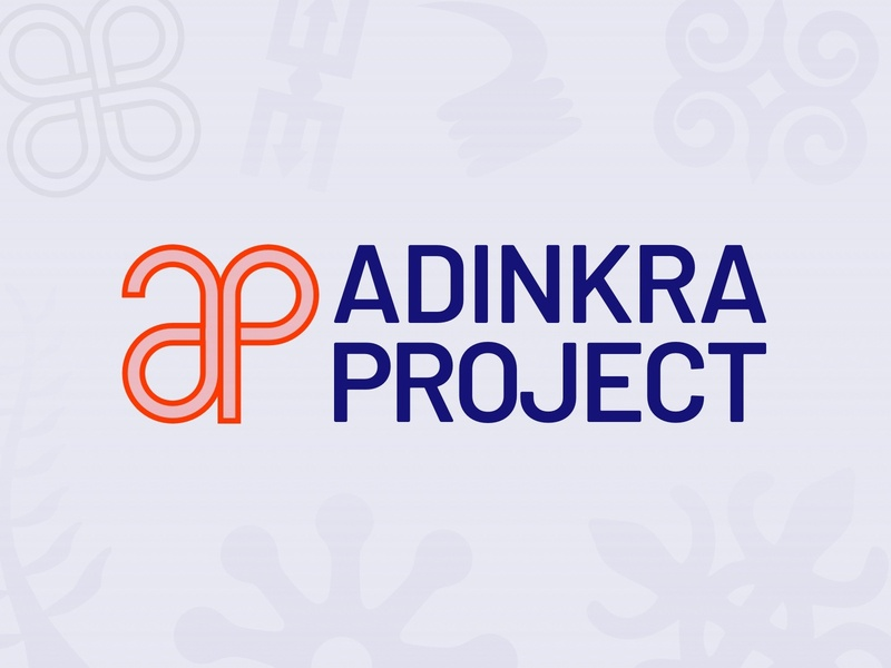 Adinkra Project Logo symbols adinkra portfolio projects logo