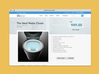eCommerce Product Detail Page