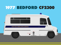 Bedford CF Ambulance