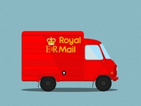 Leyland EA, Royal Mail Redline Post Van