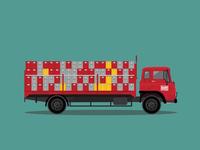 Bedford TK 1983 Barr's Drink Lorry/Truck