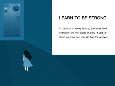 Learn to be strong