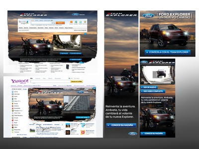 Ford Team Explorer Banners