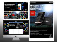 Nokia site & apps campaign