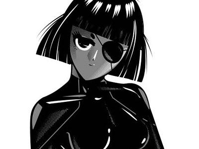 Kawaii Girl mangaart manga kawaii anime vector art illustrator graphic design vector design illustration