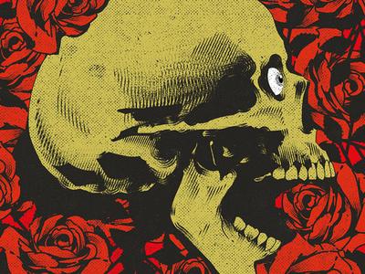 刑務所 vector art cover art poster design skull art graphic design illustration