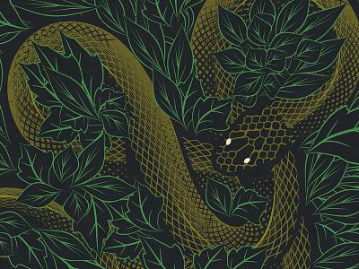 Unholy snake poster design graphic design illustration