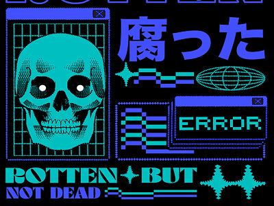 サイバーパンク digital illustration aesthetic graphic design illustration