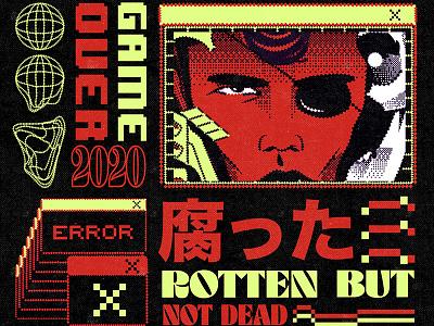 サイバーパンク cyberpunk aesthetic graphic design illustration