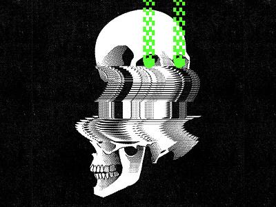 G L I T C H poster design pixel art pixelart aesthetic glitch glitch art illustrator graphic design illustration