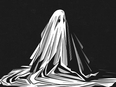 A Ghost Story vintage digital draw texture stay rotten typography illustration digital vector art illustrator graphic design pop culture vector character cartoon design illustration