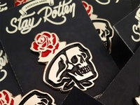 Stay Rotten Pin