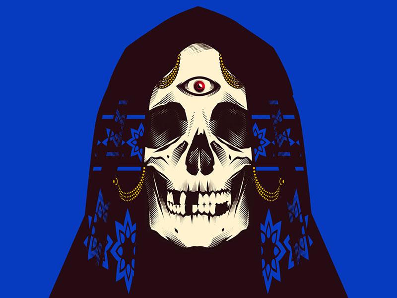 Future texture draw digital skull stay rotten illustration digital illustrator vector art vector graphic design character design illustration