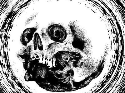 CD Cover vector illustration adobe illustrator wacom intuos skull art skull and crossbones texture brush texture dots dotwork dead illustration digital vector art gore illustrator graphic design cartoon vector design illustration