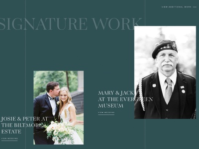 Iona - A Showit Website Template for Photographers & Creatives wedding green showit grid elegant classic emerald photography website