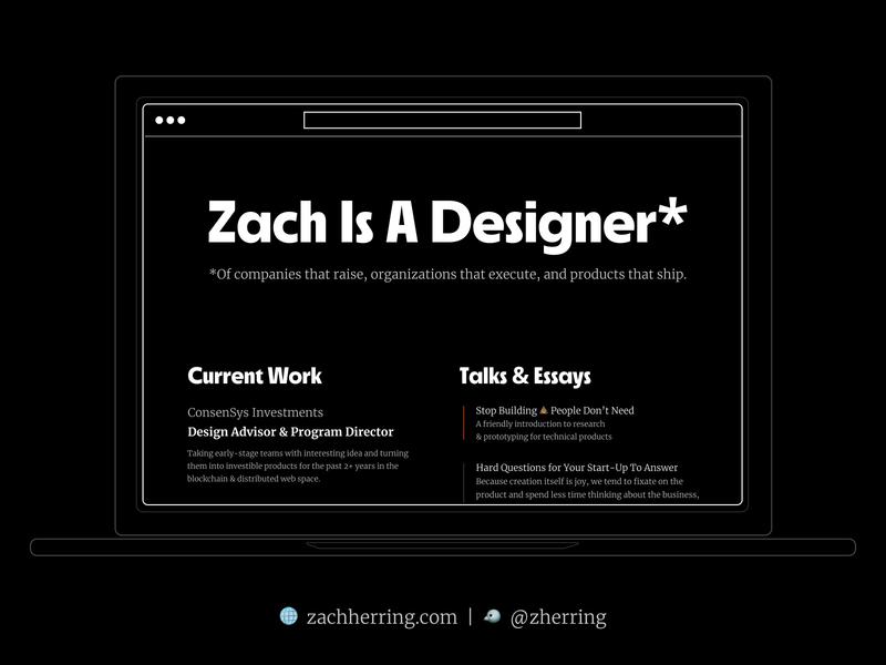 New Portfolio Site is Live workshop design product ux