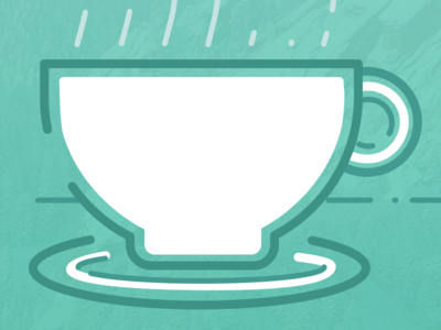 Coffee Cup Illo coffee boulder design illustration