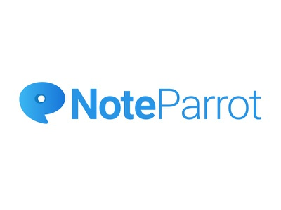 Noteparrot Logo research branding logo product ux