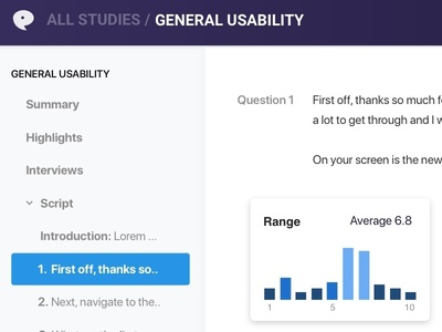 NoteParrot App Details uxr research ui ux