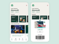 Starbucks App Design