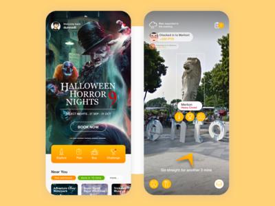 Sentosa App Design