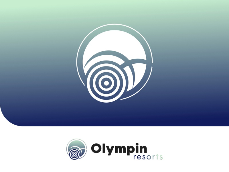 Olympin Resorts (Concept) branding icon logo vector design