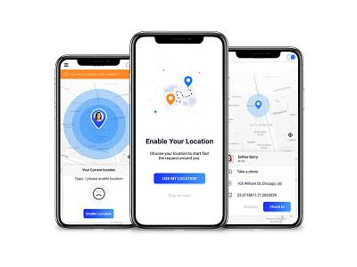 Delta Tracker Mockup design website logo app ui deisgn ui design ux ui app design mobile app design