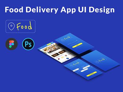 Near Food App UI Design branding vector app ux ui deisgn ui ui design app design design mobile app design