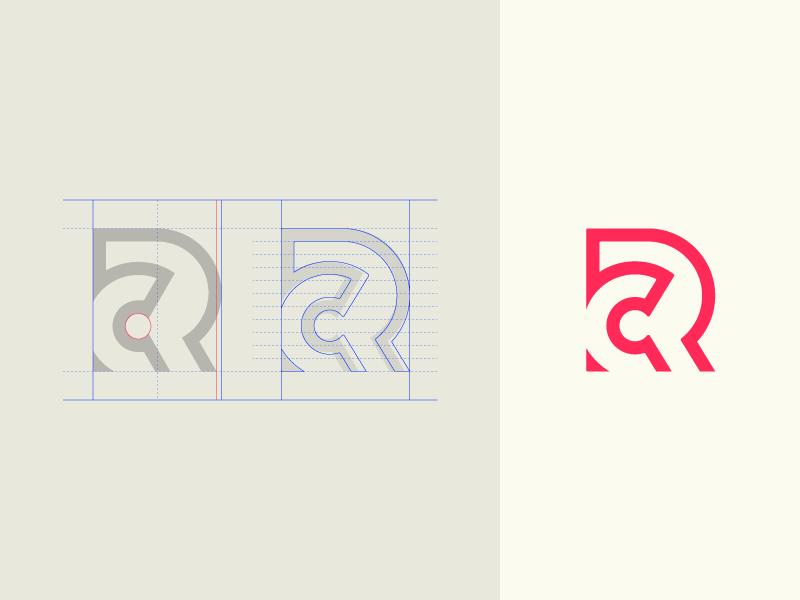 Monogram Legibility FTW grid rc vector logo monogram