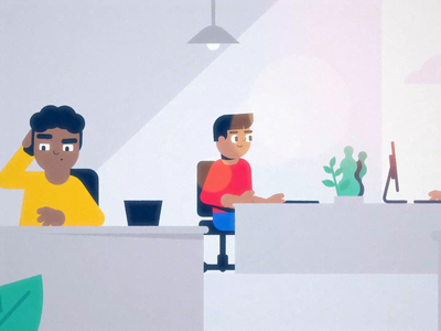 Crowdbonus explainer video characters after effects animation 2d animation