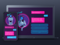 Chatbot for valentine's day event